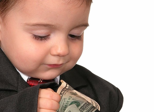 Child-counting-tithe-money